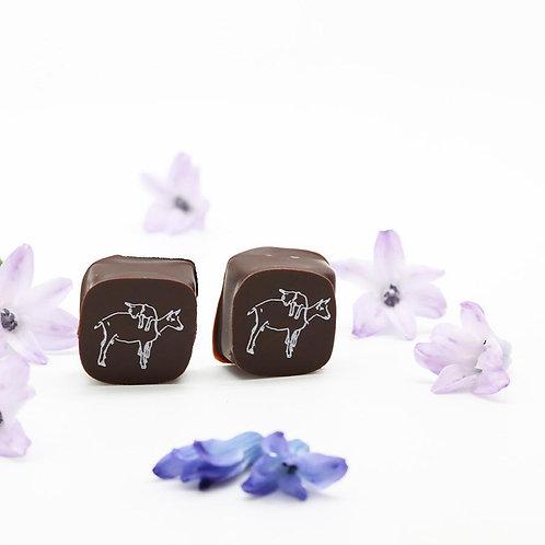 2 PIECE CHOCOLATE CANDY GRAM