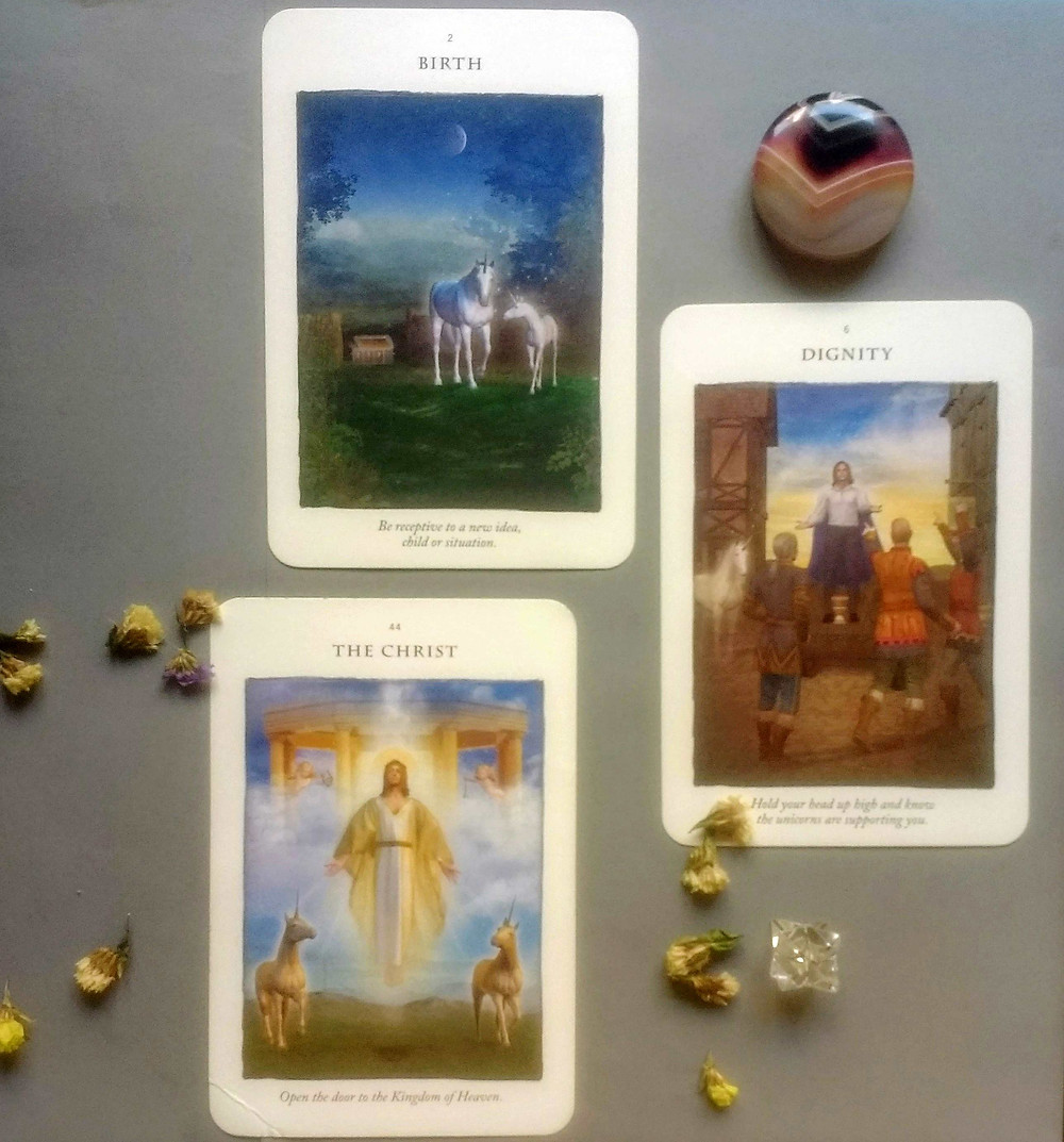 The Birth card tells us new is here to enter our life