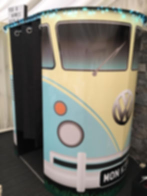 VW Vintage Camper Photobooth