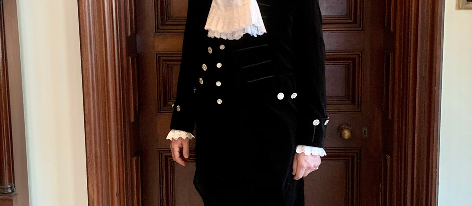 George Anson sworn in as High Sheriff of Buckinghamshire