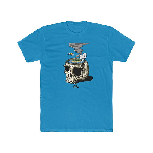 I Need A Vacation Trimmed - Men's Cotton Crew Tee