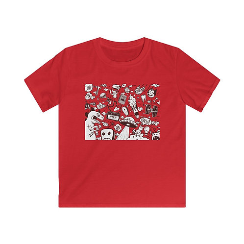 Saturday Morning - Kids Softstyle Tee