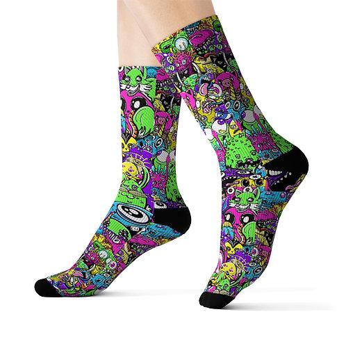 Trash Pop - Sublimation Socks