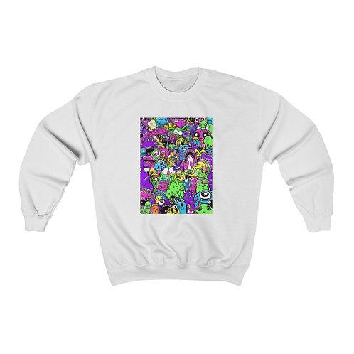 Trash Pop - Unisex Heavy Blend™ Crewneck Sweatshirt
