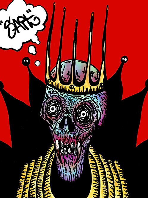 Rotten King Print