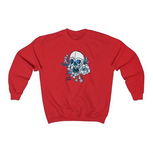 Inked White - Unisex Heavy Blend™ Crewneck Sweatshirt