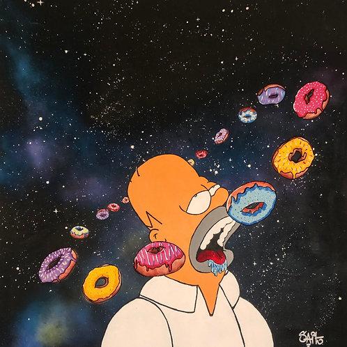 Tripping Donuts Print
