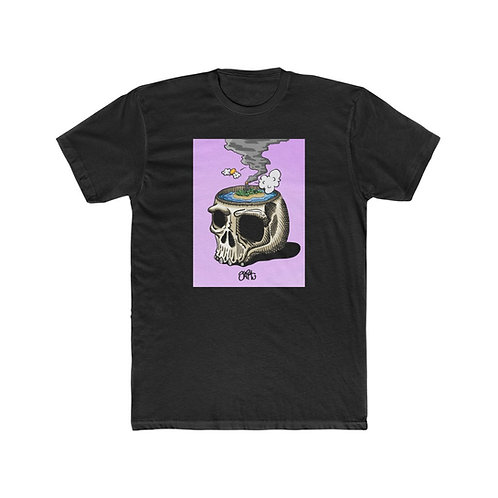 I Need A Vacation, Lavender - Men's Cotton Crew Tee