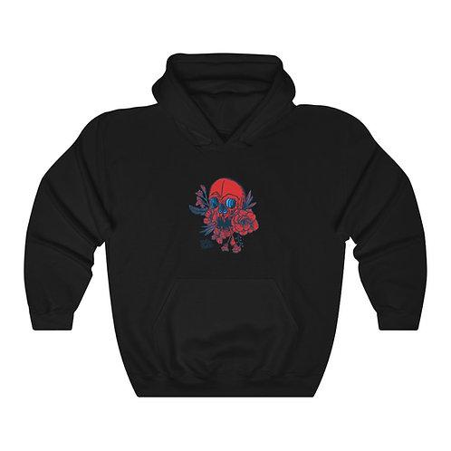 Inked Red - Unisex Heavy Blend™ Hooded Sweatshirt