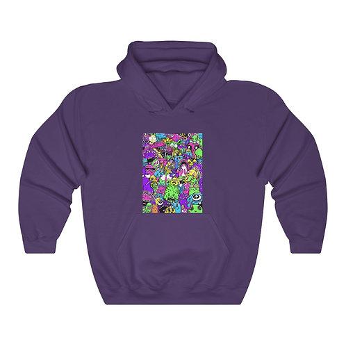 Trash Pop - Unisex Heavy Blend™ Hooded Sweatshirt