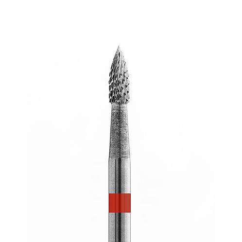 Carbide Drill Bit  21015  Flame  Red  (fine)