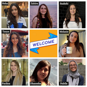 September 5, 2019: Welcoming 8 New Lab Members!