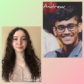 May 31, 2021: Welcoming Two New Lab Members!