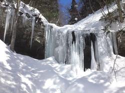 冬の岩井滝