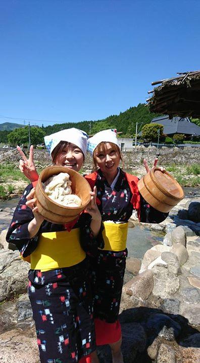 奥津温泉伝統足踏み洗濯