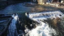 今日は温かくなりましたね🎵まだまだ本流は雪解けで増水してます 奥津川…(^^;