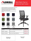 Lorell Flyer Mesh-Back Chair with Seat Covers LLR00590 2.jpg