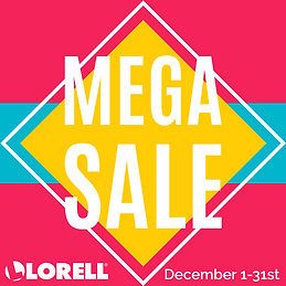 Lorell December Mega Sale 600x600.png