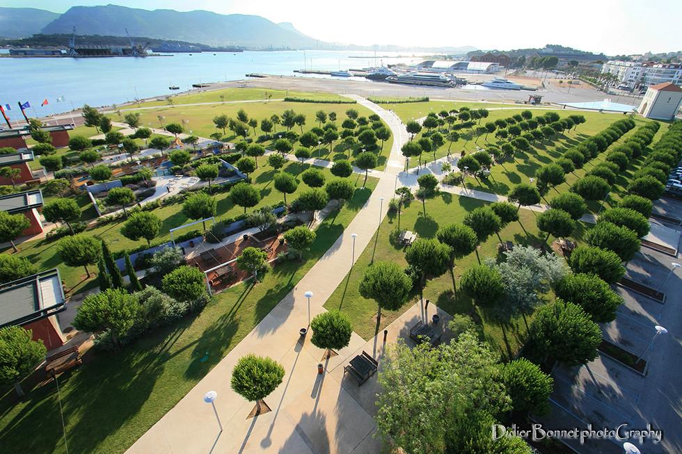 Parc de la Navale - La Seyne sur Mer.
