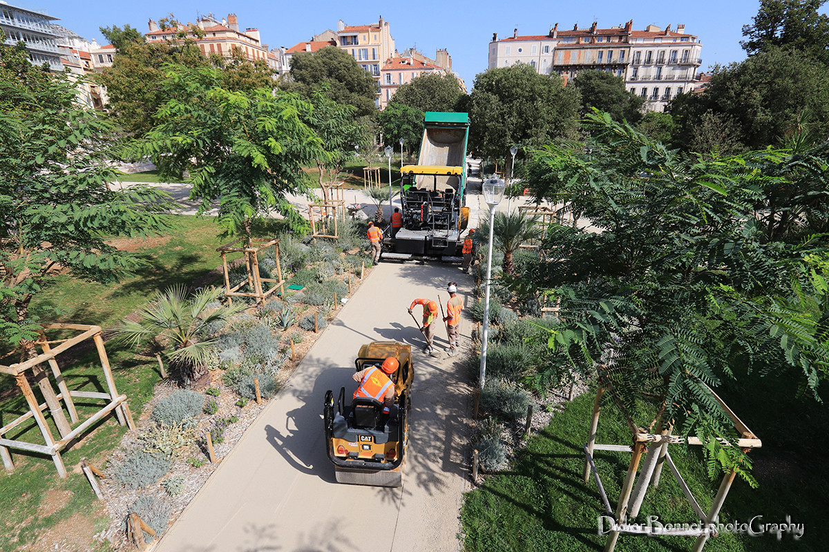Jardin Alexandre I - Toulon.