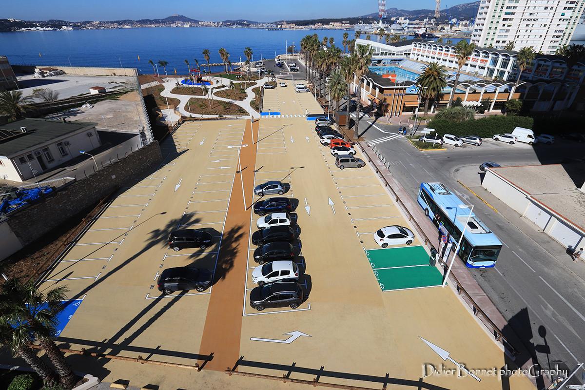 Parking de l'Armée d'Afrique - Toulon.