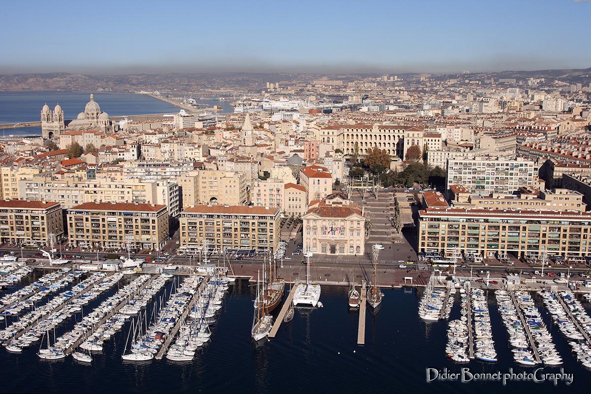 Place de l'Hôtel de ville - Marseille.