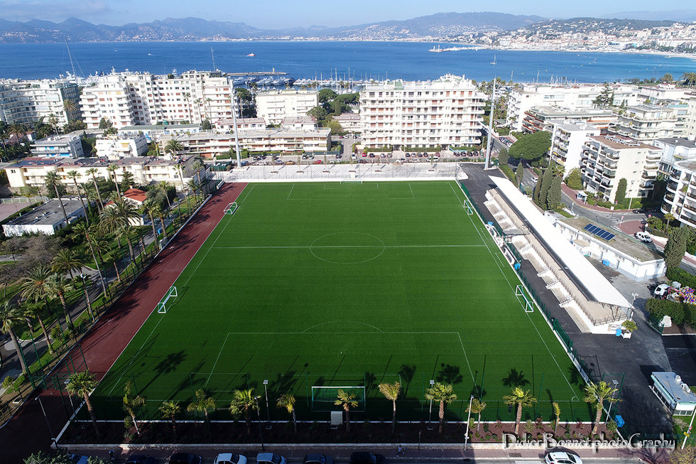 Stade des Hespérides - Cannes.