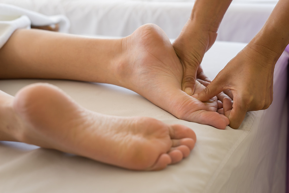 reflexology therapy image