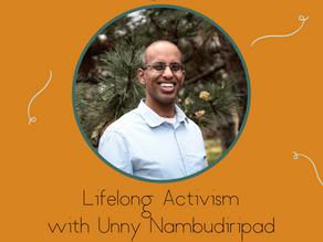 Lifelong Activism with Unny Nambudiripad