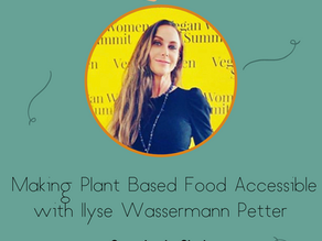 Making Plant Based Food Accessible with Ilyse Wassermann Petter