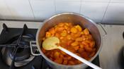 Pesche in cottura lla Bigattera