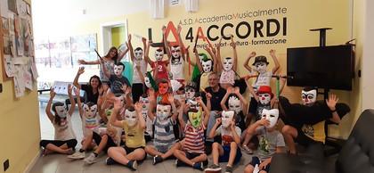 Laboratorio maschere ai 4 Accordi