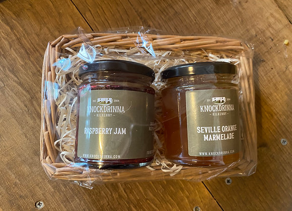 Raspberry Jam & Seville Orange Marmelade