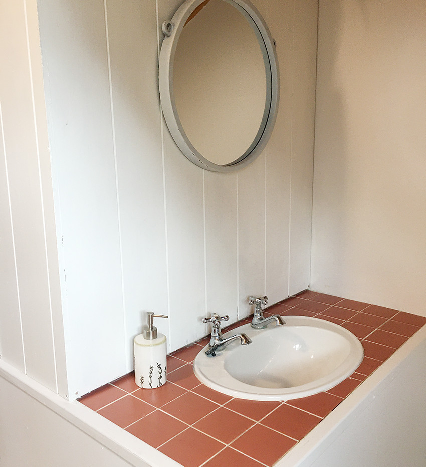 Upstairs Shower and Toilet