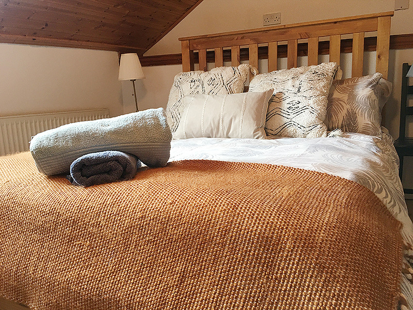 Double Bed upstairs (room 2)