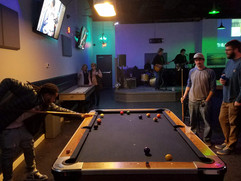 Pool table got a face lift