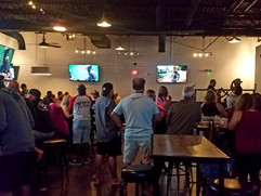 Coastal Taproom Live band and crowd open
