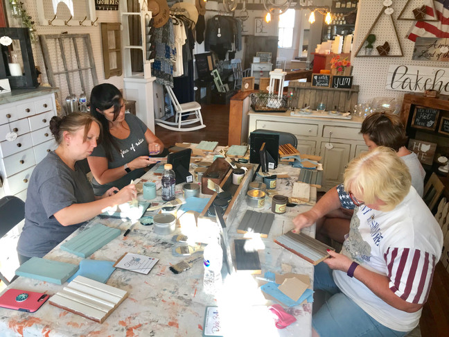 Chalk Painting 101 Class August 30th