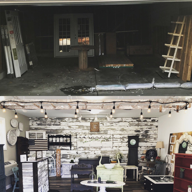 Oakwood Showroom Before and Afters