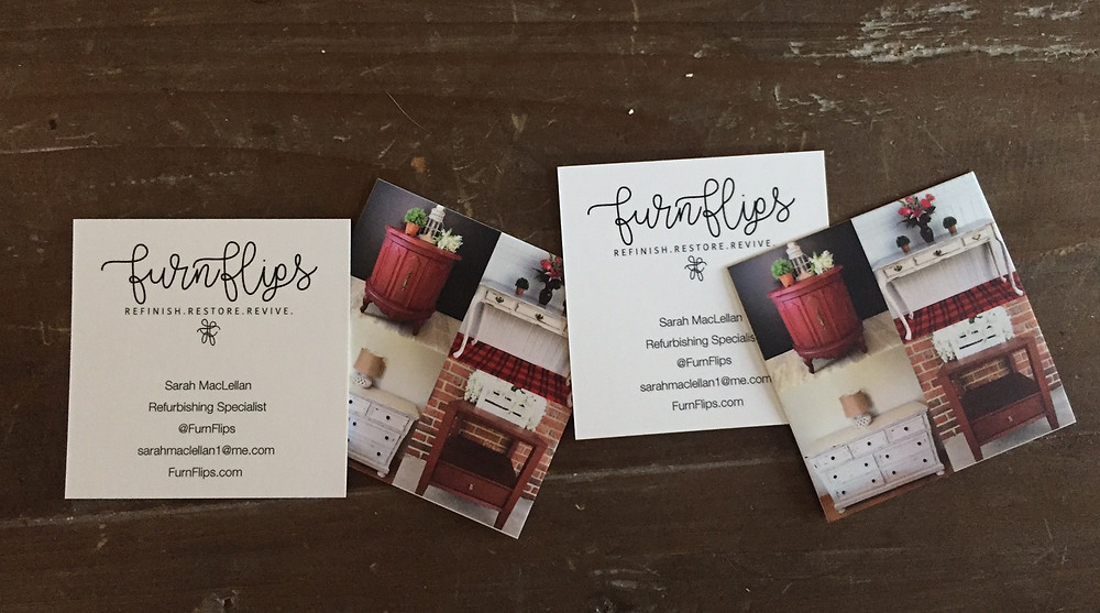Moo has made FurnFlips so happy! When making business cards, I highly recommend them!