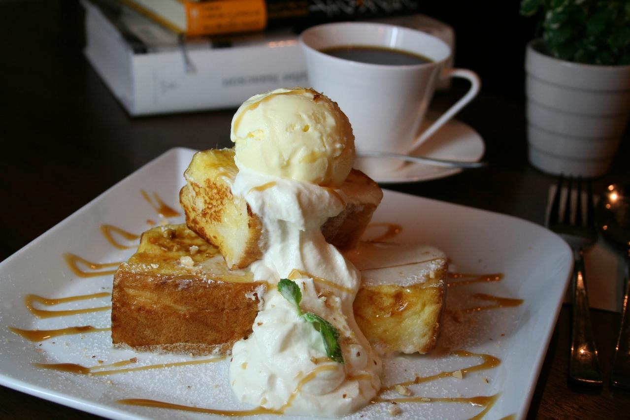 キャラメルナッツフレンチトースト