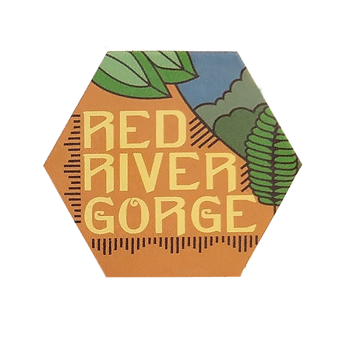 Red River Gorge, Kentucky Sticker   Available in 2 Sizes