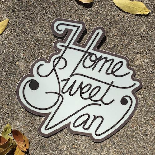 Home Sweet Van Sticker