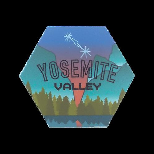 Yosemite Valley, California Sticker