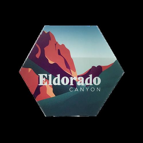 Eldorado Canyon, Colorado Sticker | Available in 2 sizes