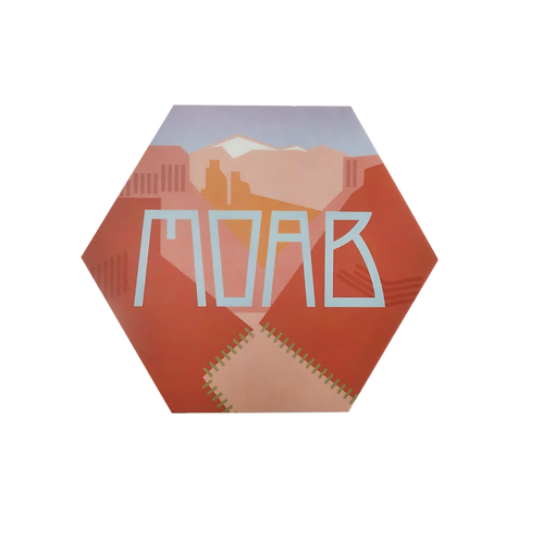 Moab Utah, Sticker | Available in 2 sizes