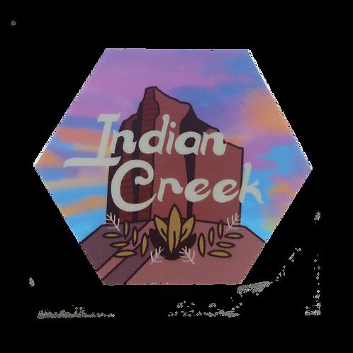 Indian Creek, Utah Sticker