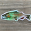 Thumbnail: Holographic Rainbow Trout Sticker