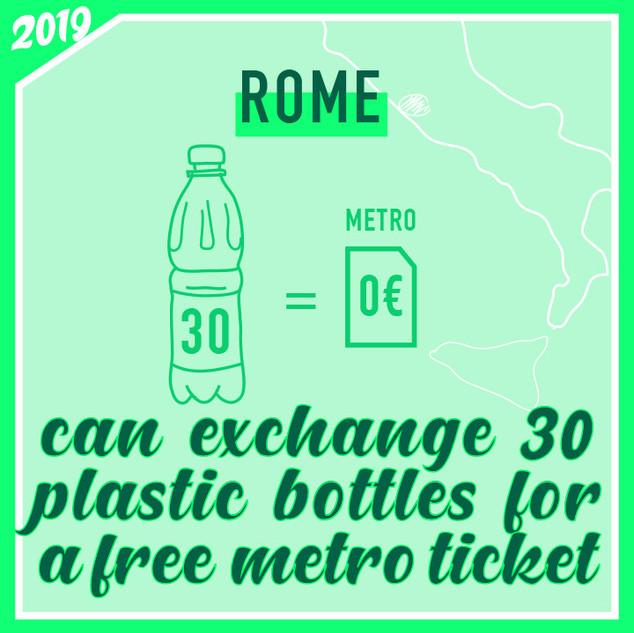 Free metro tickets