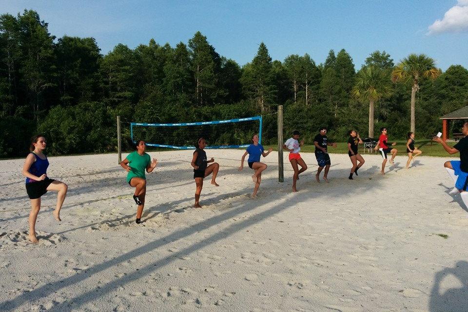Sand Traning July 2014